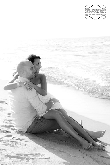 Illinois Beach Lakefront Engagement Wedding Photographer
