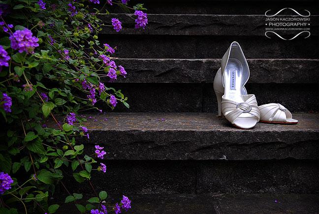 Bride's Shoes at Bishops Hall 605 Iowa Oak Park, IL 60302