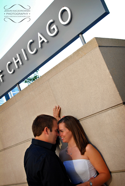 Art Institute of Chicago Engagement Session