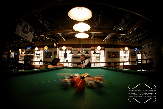 Ball Break City Pool Hall Chicago Illinois