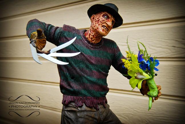 Nightmare on Elm Street meets wedding photography