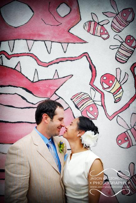 Bride and Groom photo taken in Denison TX