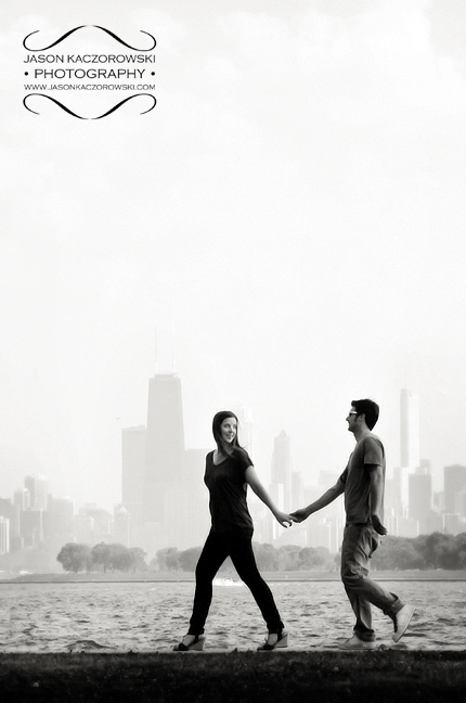Lake Michigan Chicago Engagement Pictures