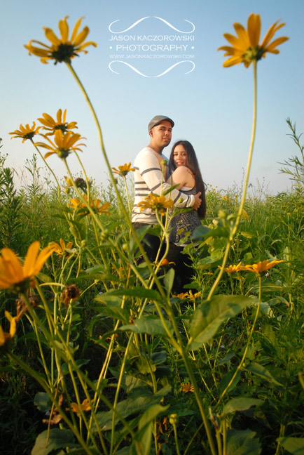 Chicago Engagement Session Picture
