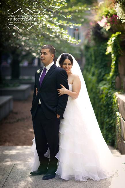 Art Institute of Chicago Wedding Photo