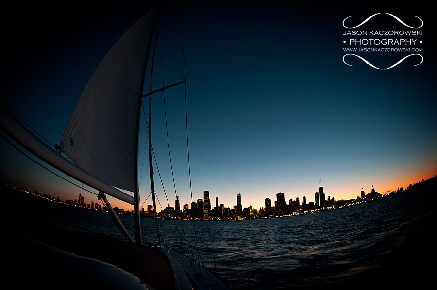 Sunset Charter Chicago Wedding Pictures