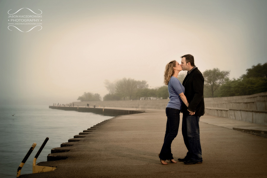 Lake Michigan Engagement Session