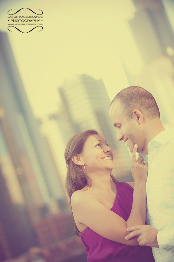 Vintage Chicago Engagement Pictures 11