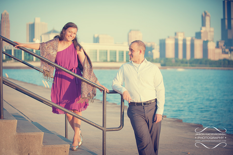 Chicago Engagement Photographs 3