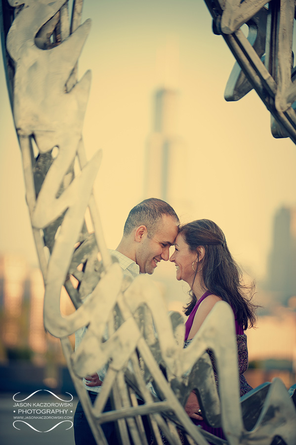 Chicago Lakefront Engagement Photography 5