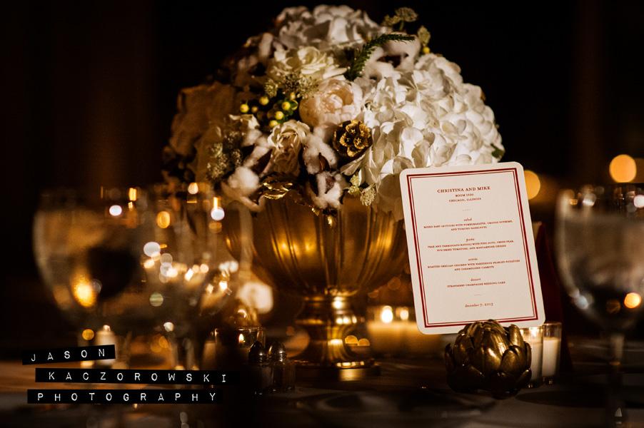 Vale of Enna wedding reception centerpiece