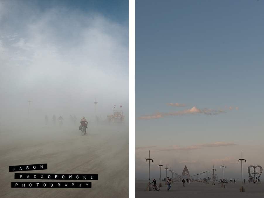 Dust Storm Burning Man 2015