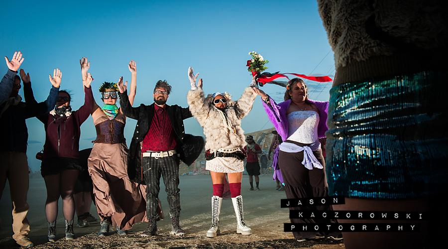 2015 Burning Man Wedding Photography