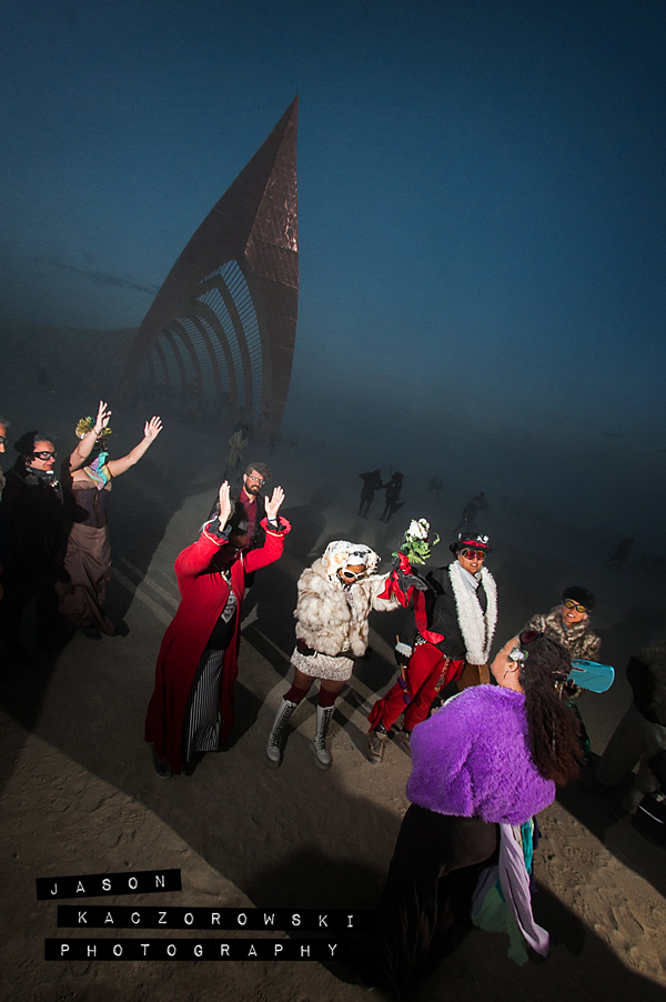 Temple of Promise Pagan Wedding BurningMan 2015