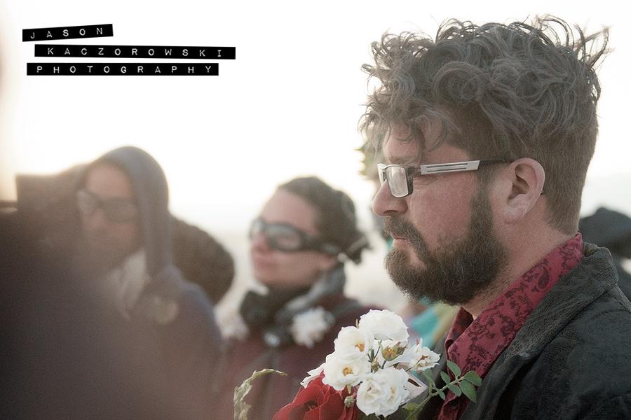 Burning Man Wedding Steampunk Groom