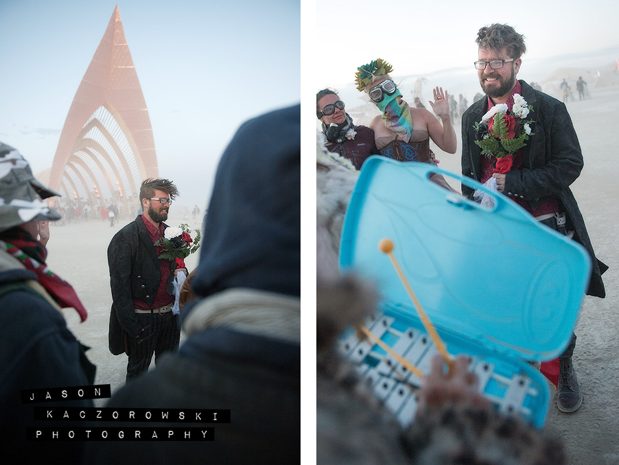 Burning Man Wedding Temple of Promise 2015