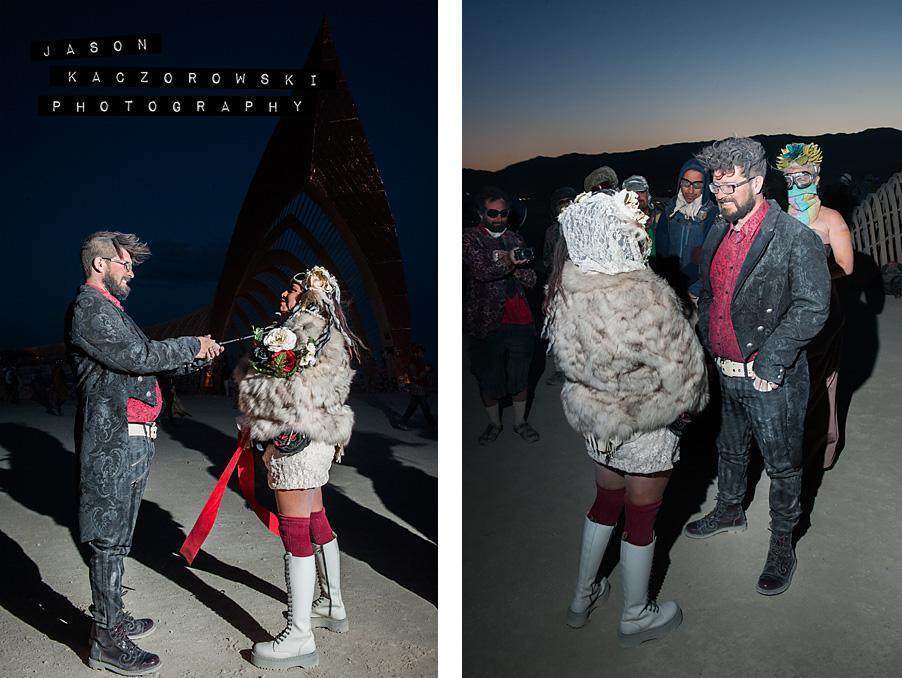 Burning Man Pagan Athame Knife Sword Wedding Ritual