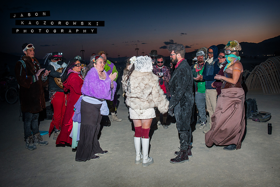 Burning Man Wedding Ceremony