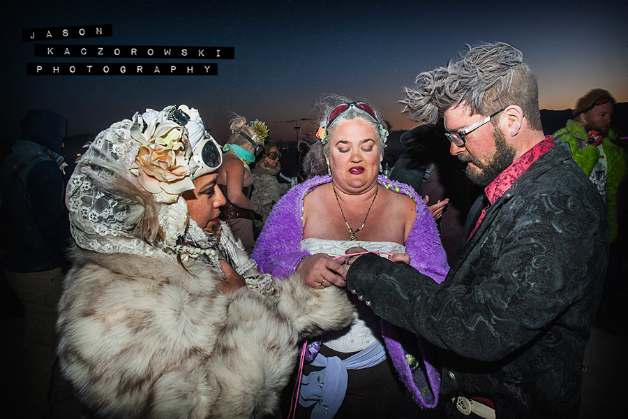 Pagan HandFasting Hand Fasting Ceremony Burning Man 2015