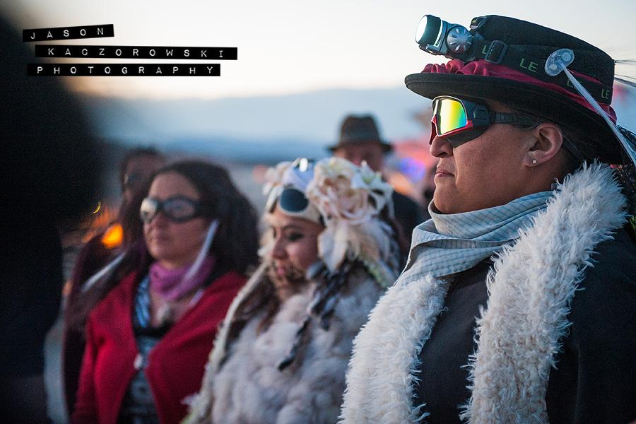 Wedding Party Burning Man 2015