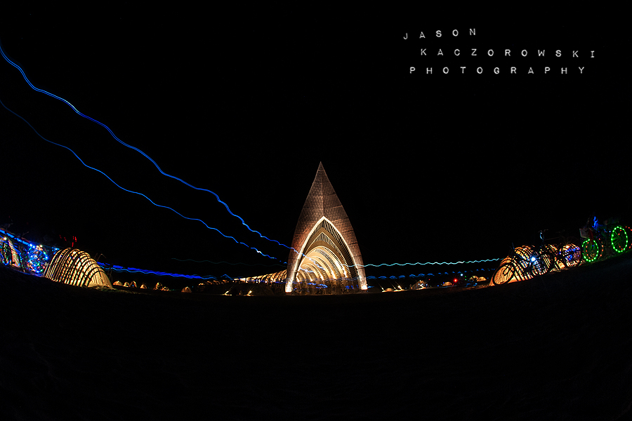 Burning Man 2015 Temple of Promise