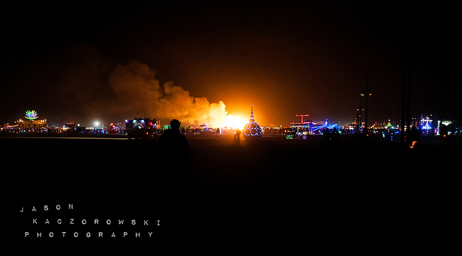 Burning Man 2015 Burn
