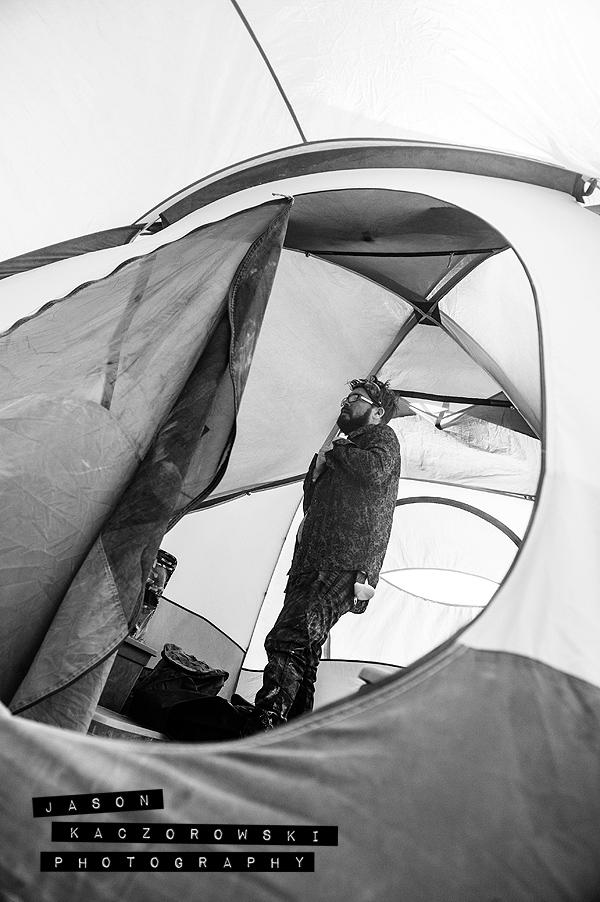 Groom Tent Burning Man