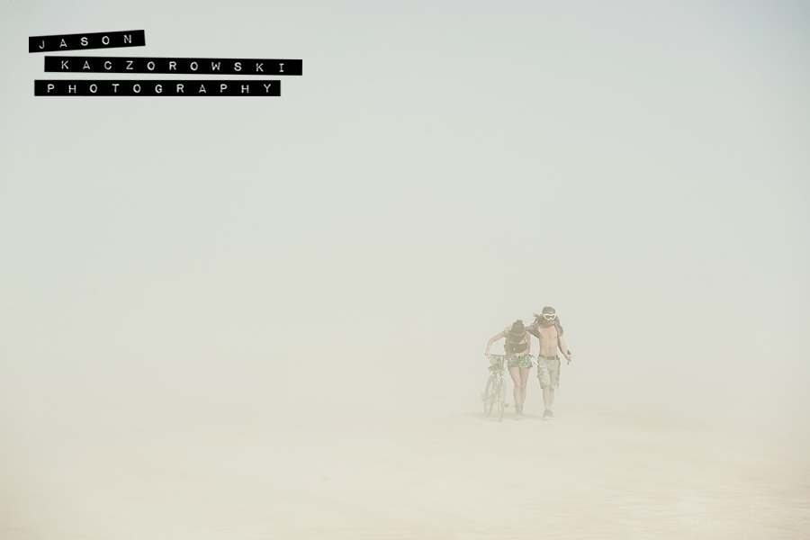 Sand Storm Burning Man Dust 2015