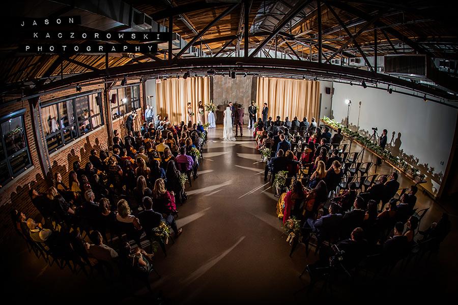 Ovation Venue Chicago Wedding Ceremony
