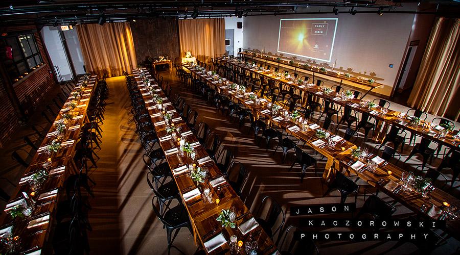 Farm Tables Wedding Reception