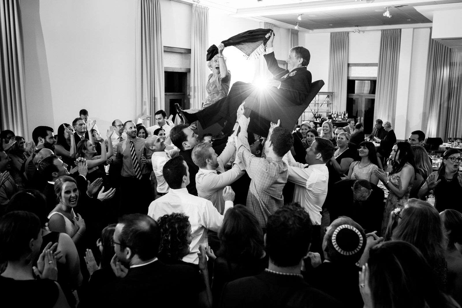 Ivy Room Chicago Hora Jewish Wedding