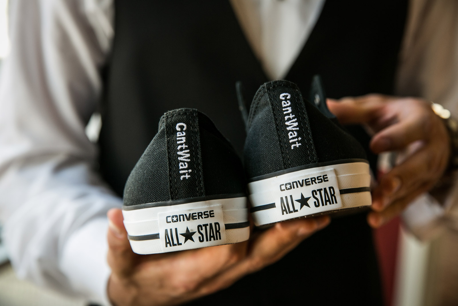 converse all star shoes wedding inspiration