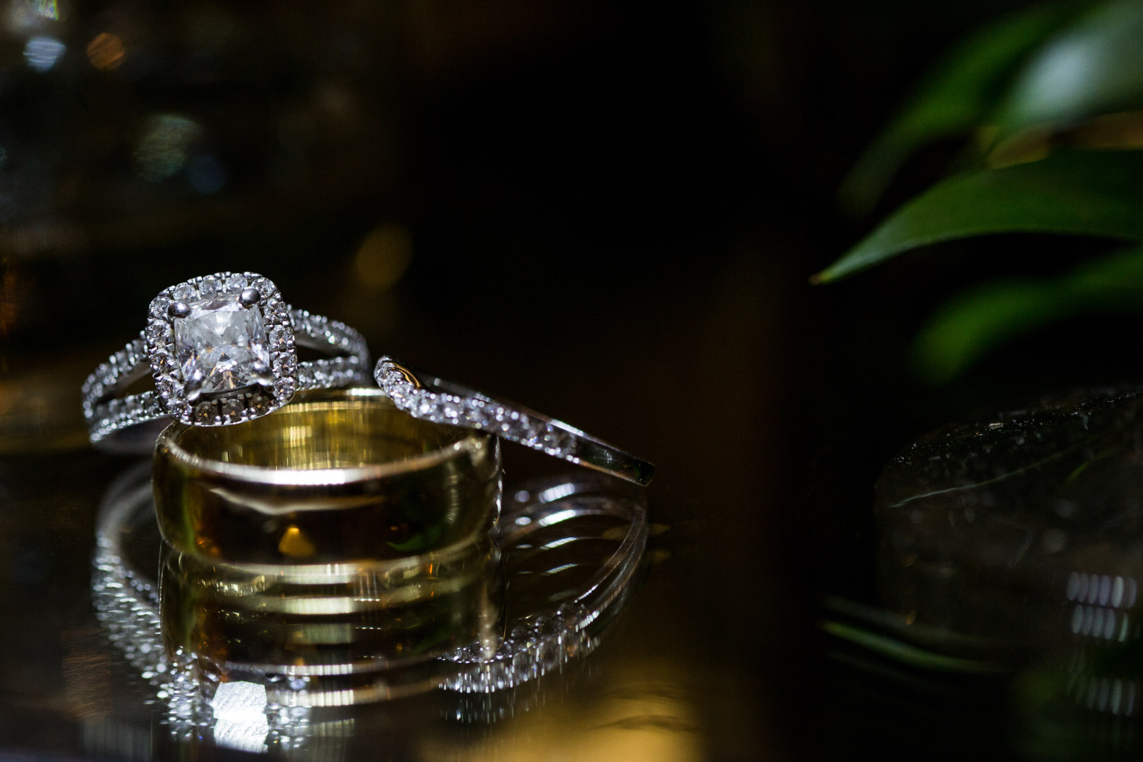 Wedding Ring Detail Photo