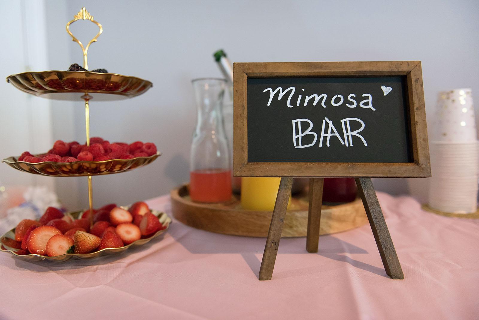 Wedding Inspiration Mimosa Bar
