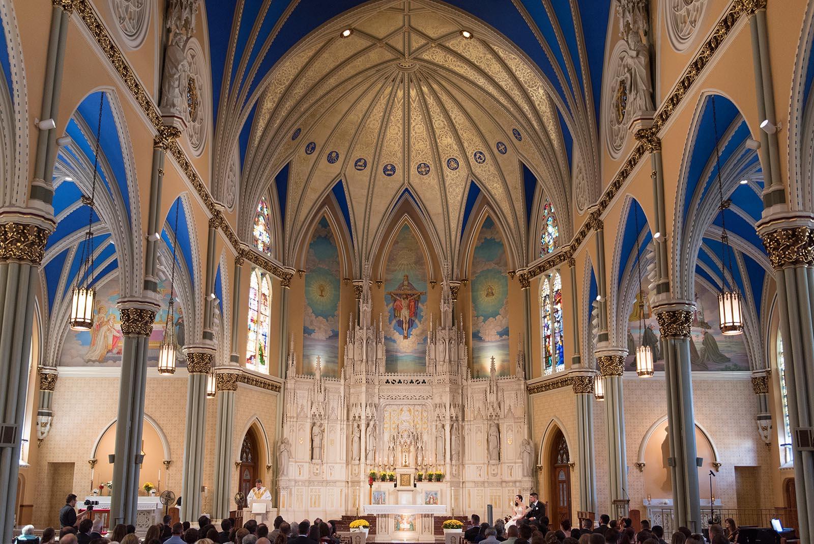 St Alphonsus Wedding Ceremony Mass Chicago