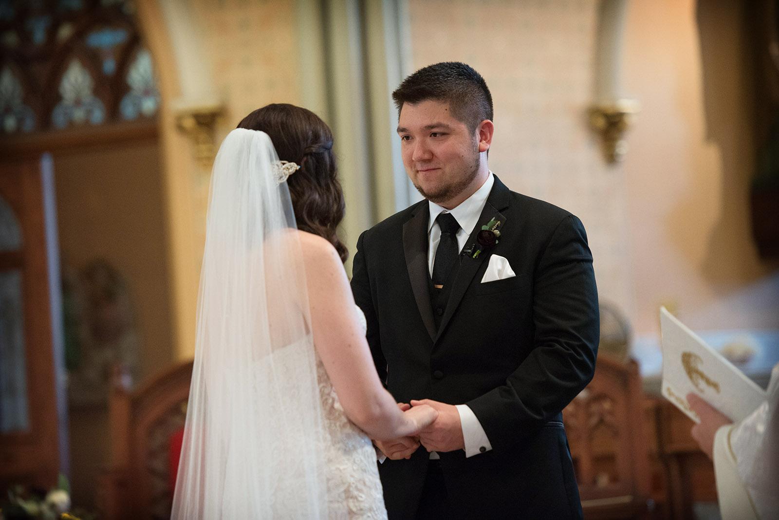 Wedding Vows St Alphonsus Chicago