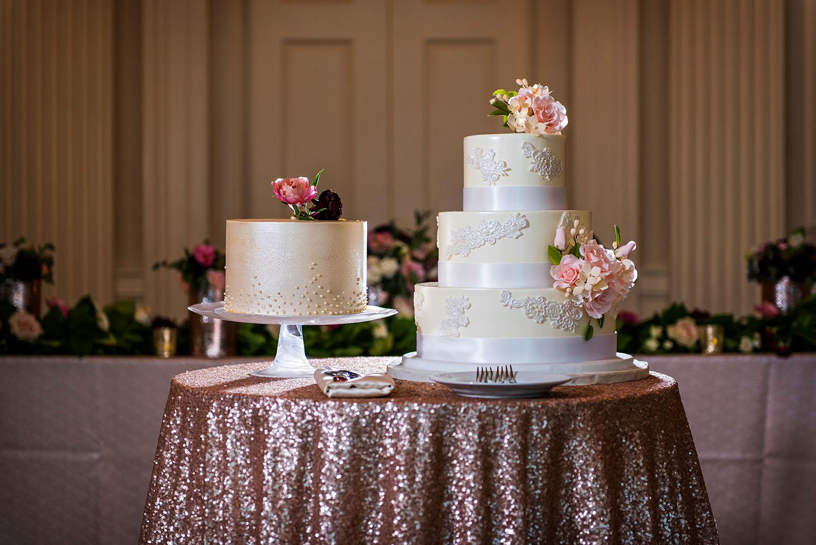 Chicago History Museum Gluten Free Wedding Cake