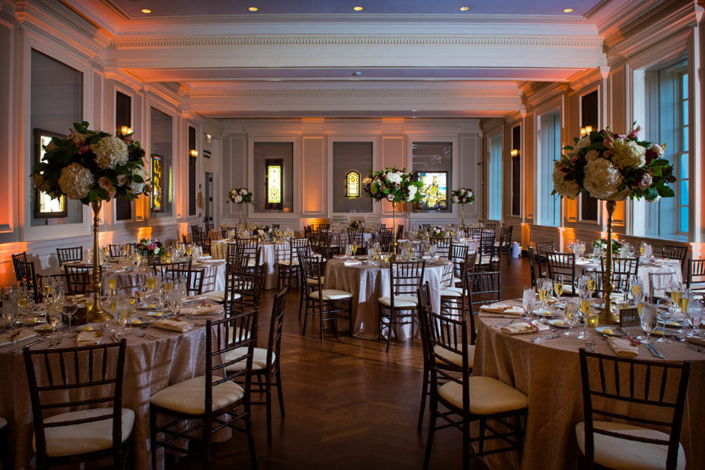 Chicago History Museum Wedding Reception Decor Inspiration
