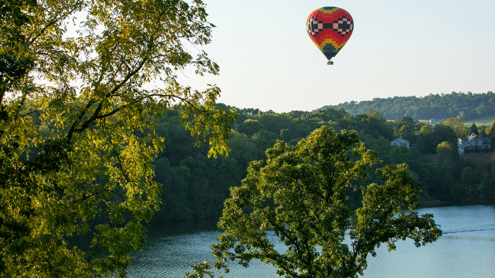 Eagle Ridge Resort Wedding Hot Air Balloon