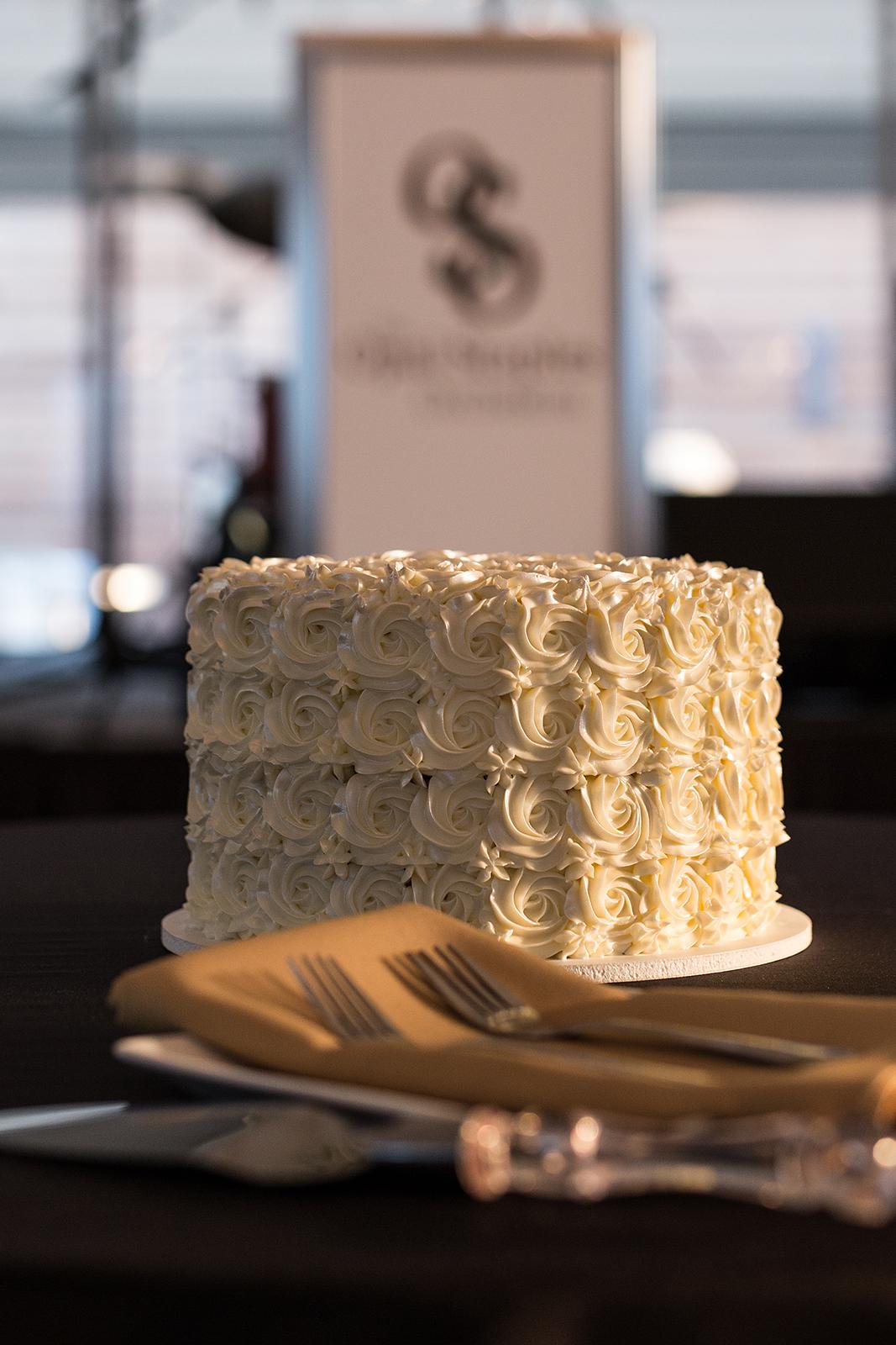 Wedding Cake at Galleria Marchetti