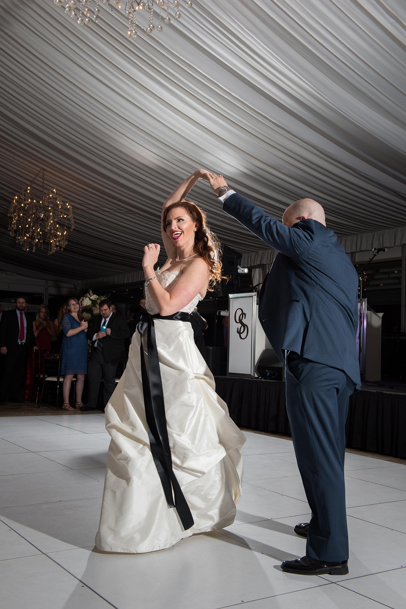 Bride Groom First Dance Galleria Marchetti