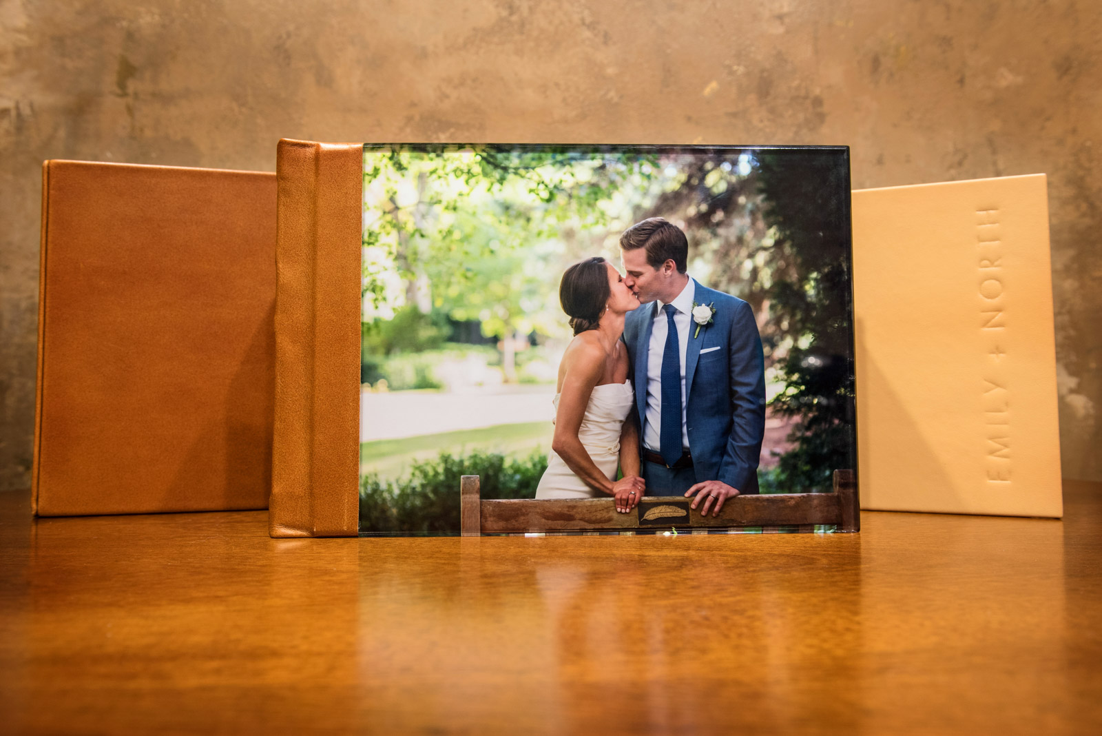 Acrylic Cover Finao Wedding Album Book