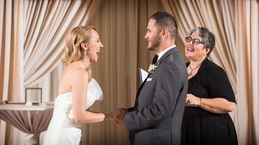 Anita Vaughan wedding ceremony rookery