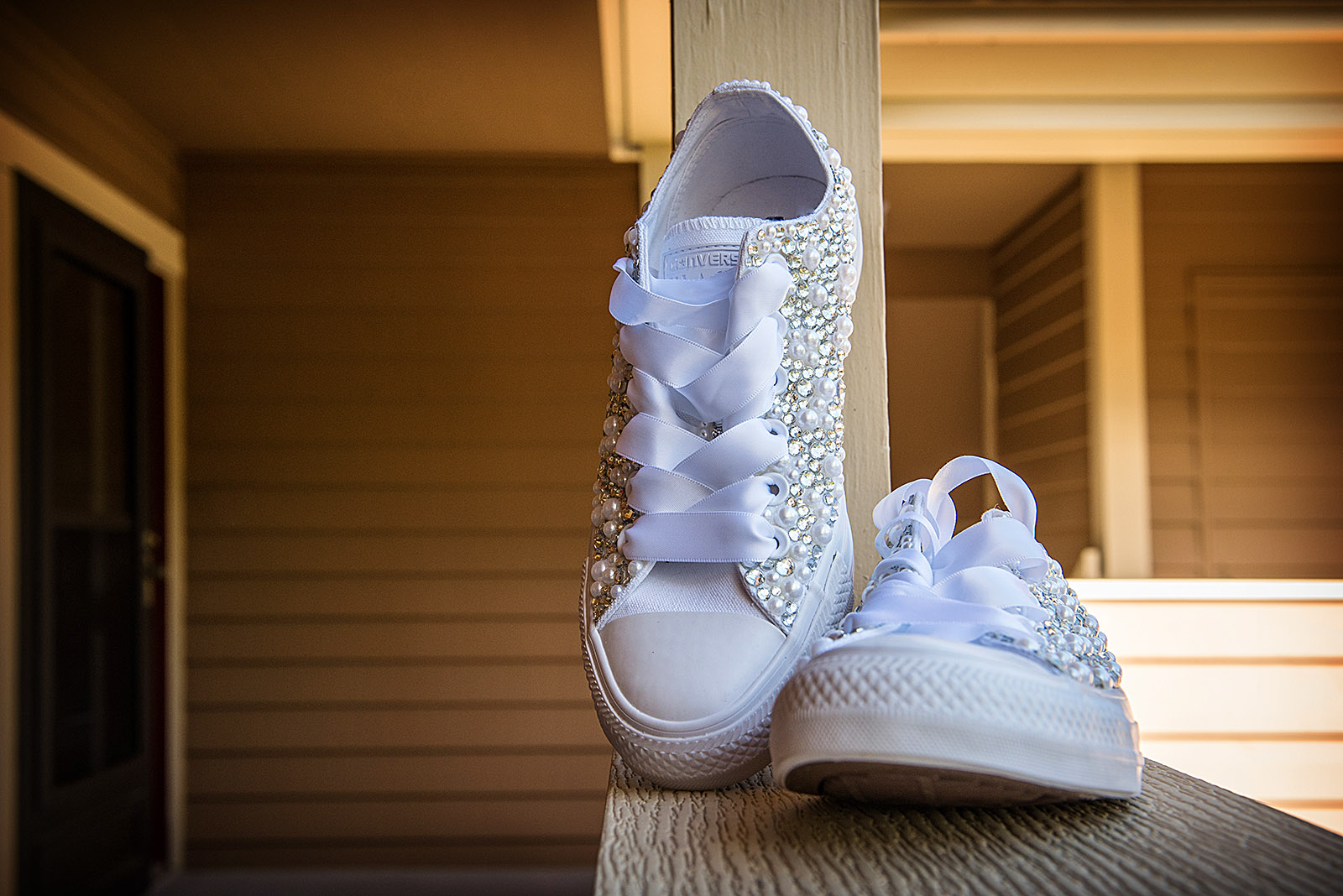 Brides Converse All Star Shoes