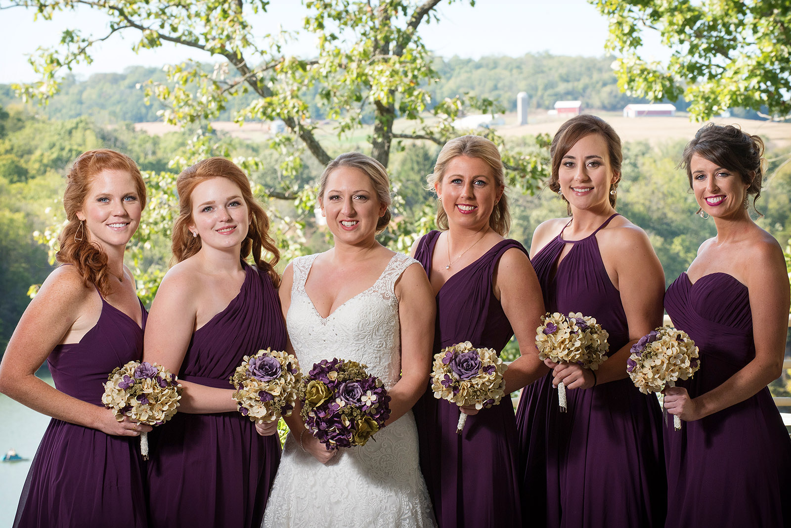 Wedding Bridesmaids Picture Eagle Ridge Resort