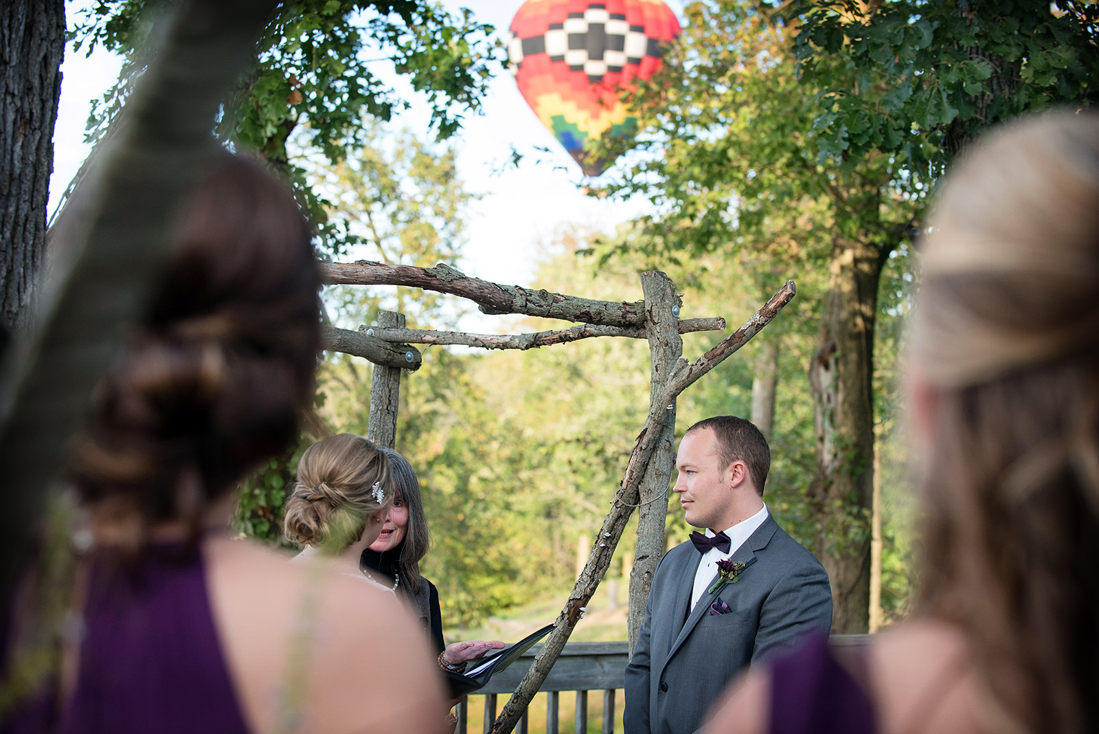 Wedding Hot Air Balloon Eagle Ridge