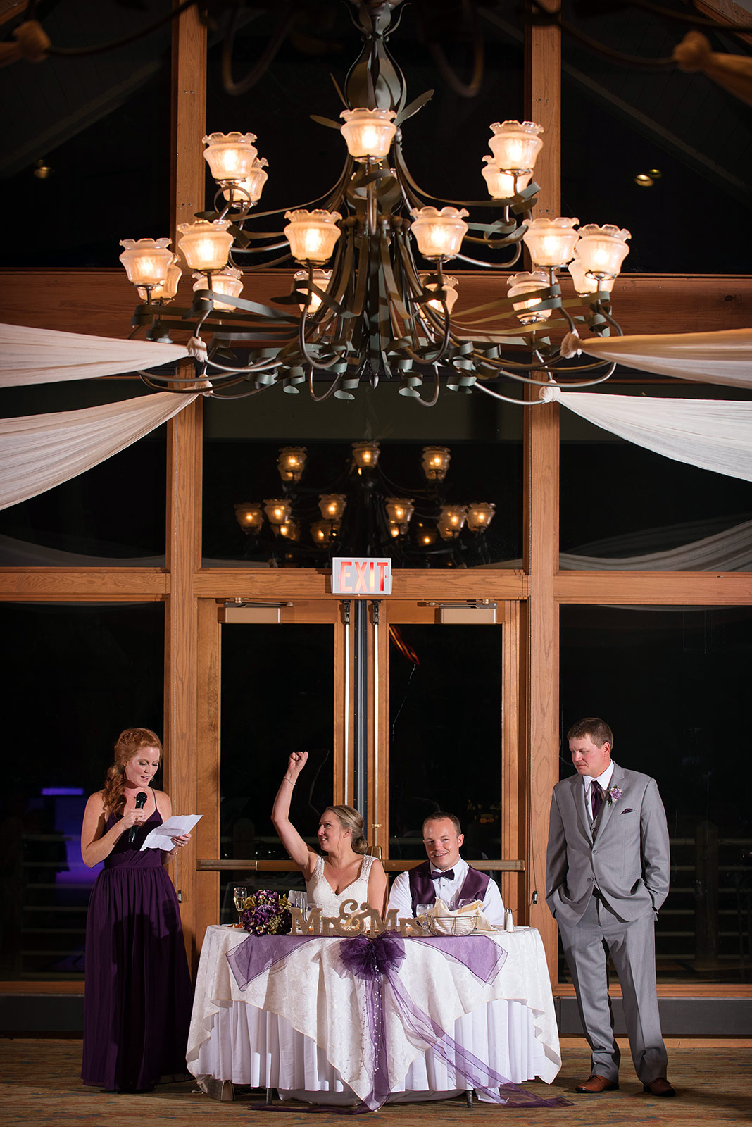 Best Man Maid Honor Toast Speech Wedding Reception