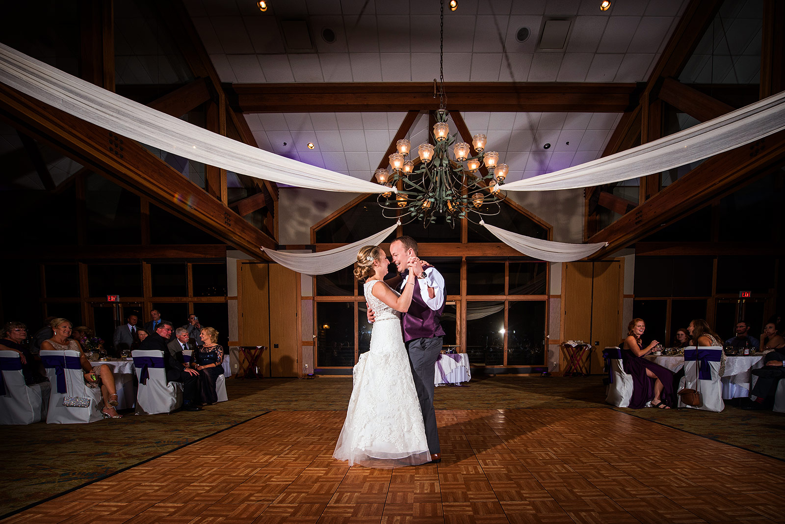 Bride Groom First Dance Eagle Ridge Resort Reception