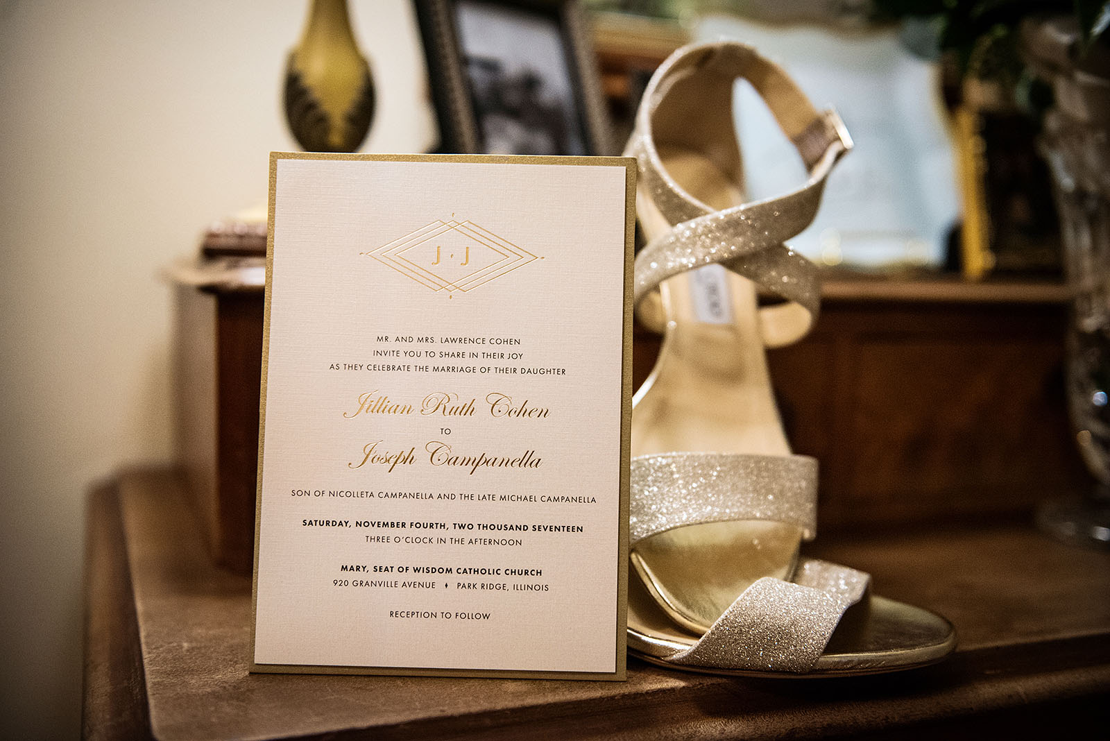 Wedding Invitation Wedding Shoes