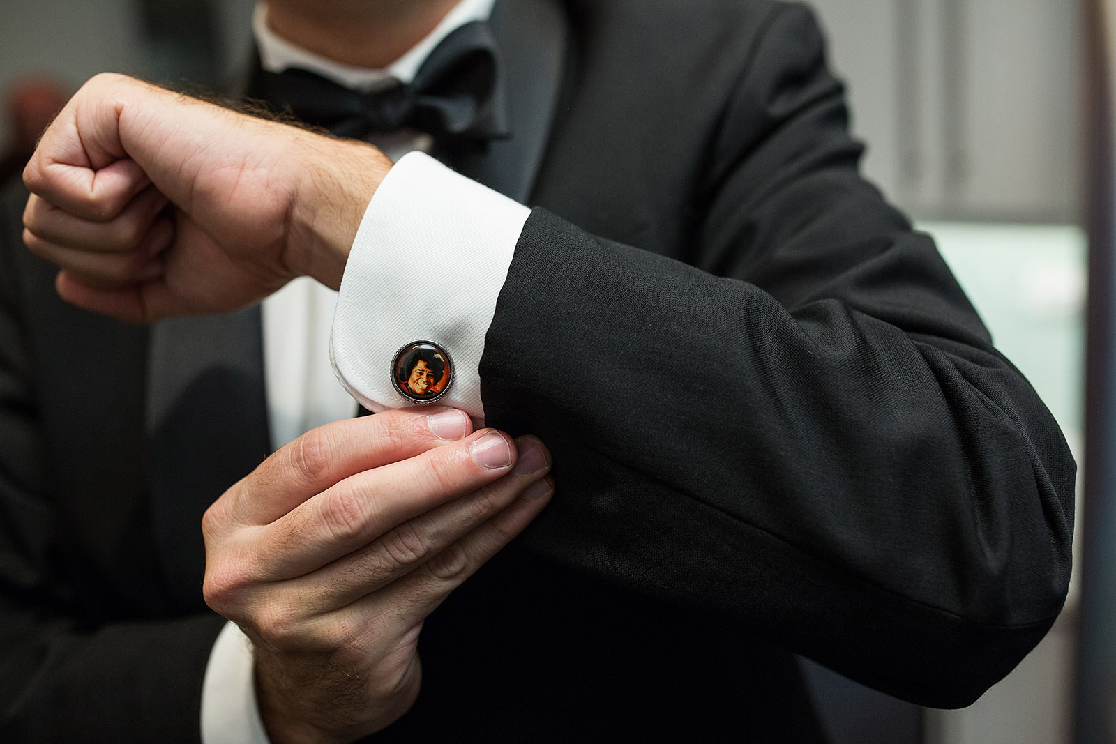 Groom James Brown Cufflinks